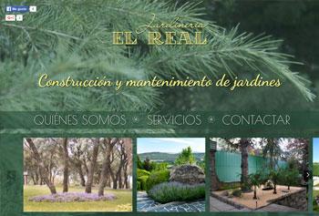 Logo de Jardinería el real